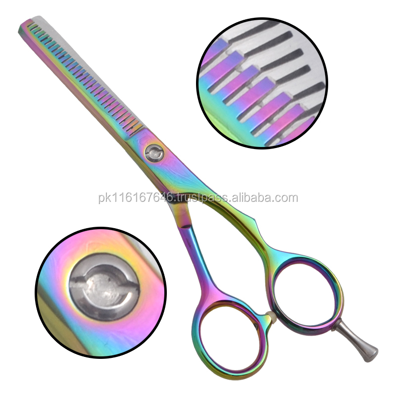 Hair Thinning Scissors Double Sided Teeth Thinning Shears Japanese Stainless Steel