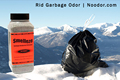 SMELLEZE Natural Trash Smell Removal Deodorizer: 50 lb. Granules Destroy Dumpster Stink