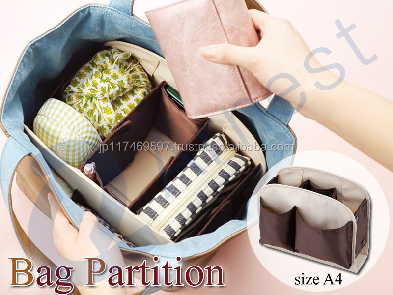 Arnest luggage bags cases handbags woman diapers stationary make up bag divide container boxes bag 76184