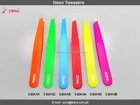 Orange Colored Neon Tweezers / Get Eyebrow Tweezers Under Your Brand Name From Zona Pakistan