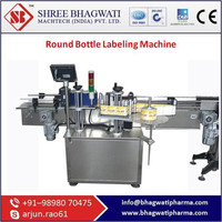 Round Bottle Labeling Machine With Most Standard Features