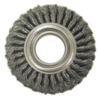 Wide Face Standard Twist Knot Wire Wheels-TW Series-Carbon Steel (Each)