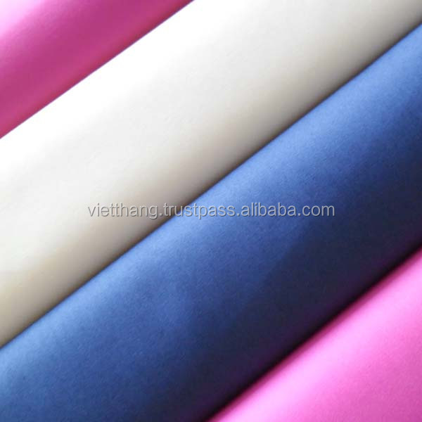 100% Cotton Fabric 139*72 CM40*CM40 125gsm plain weaving, shirting from Vietnam