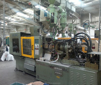2 Color injection machines - 2003 & 2005 models - Hwa Chin brand (Taiwan)