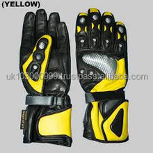Leather motorcycle gloves\racing gloves\biker gloves