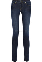 2015 International brand jeans/denim women boot leg skinny and slim fit design jeans women skinny jeans for women