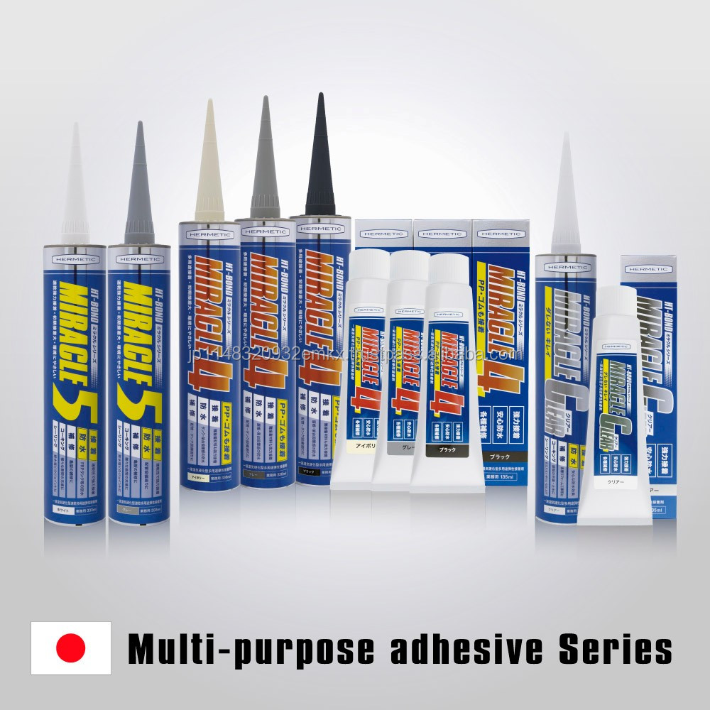 High quality multiple use synthetic rubber adhesive , pipe sealant also available