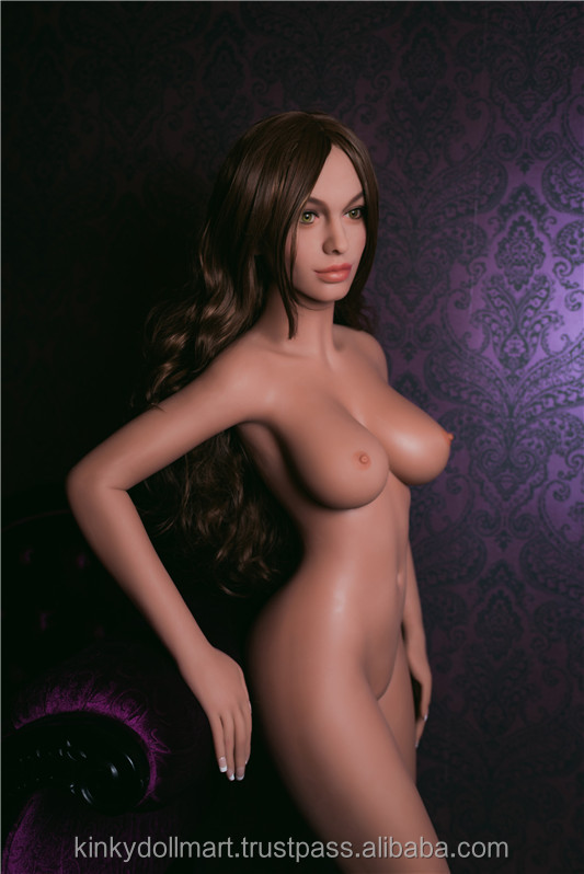 Nice Figure & Boobs Sexy Tanned European Look Girl Silicone Sex Doll for Man (158cm)