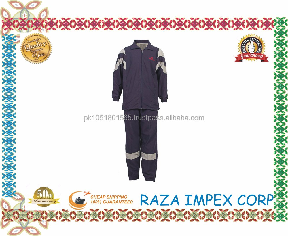 Latest Design Custom Tracksuit Wholesale Supplier for Basketball Training / tracksuit top for men running dri fit apparel