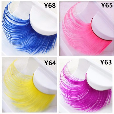 Zealhoney Hot Sale Christmas Gift Feather Dramatic Party False Eyelash
