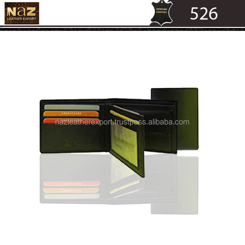 Men's Notecase Wallet in Genuine Leather