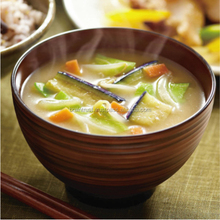 Hot-selling and Various stir-fried vegetables miso soup freeze dried with high-security made in Japan