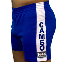 Shorts for SAMBO made in Stretch polycotton