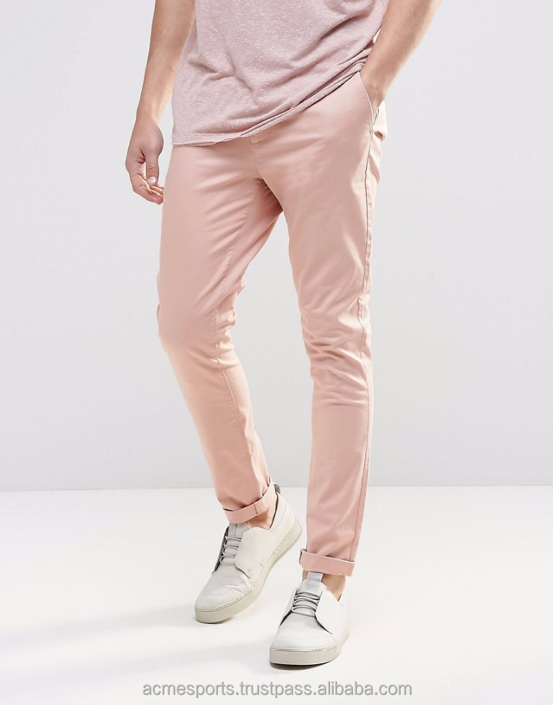 Chino Pants - 2016 Top Fashion New Menes Leather Trouser , Pants, Jeans