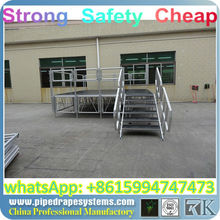 BEST outdoor stage with ramp,pipe and drapes room divider