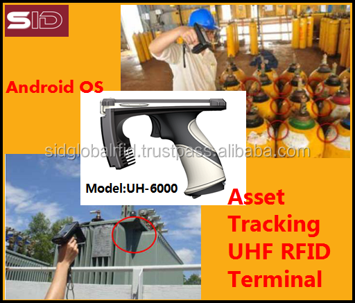 Gas cylinder RFID tagging Handheld Terminal reader UH-6000 from SID-Global