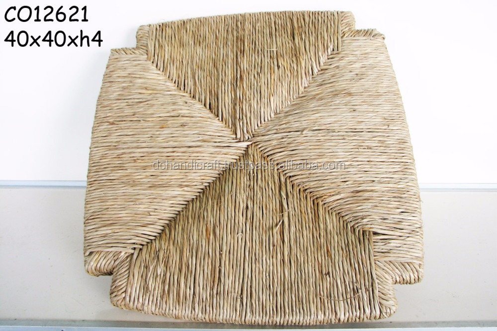 100% natural seagrass seat, doormat, handicraft made in Viet NamCO12621