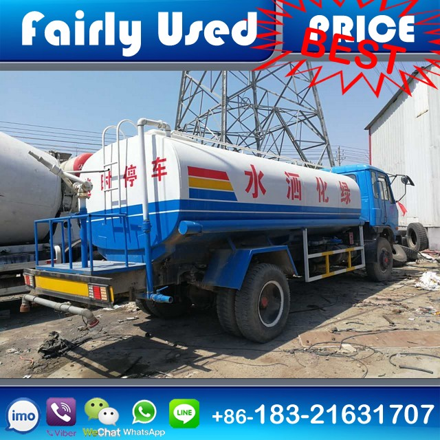 Used Dongfeng Water Tanker Truck 13CBM for sale