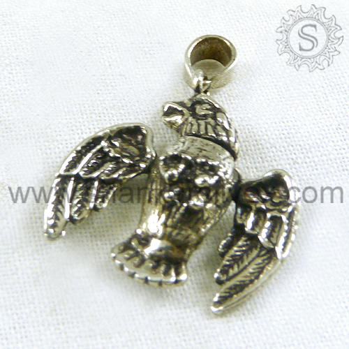 Eye Catching Eagle Silver Jewelry Pendant 925 Silver Jewelry Wholesaler Silver Jewelry India