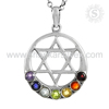 Stimulatingstar Colourful 925 Sterling Silver Chakra
