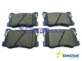 BRAKE PAD, MANDO 4P, FOR SEMI TUNING