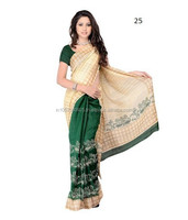 Party wear saree and blouse designs\all types of indian sarees\utshob saree