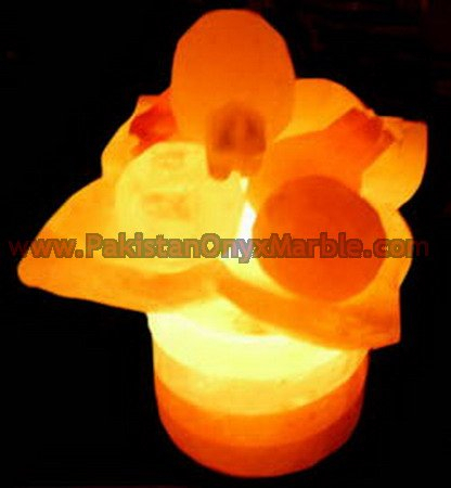 HAND CARVED CRAFTED BOWLS SALT LAMPS
