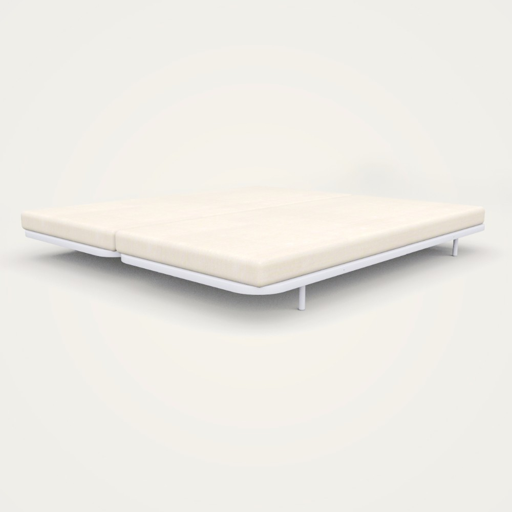 Zen Double Bed Frame with Air flow Mattress