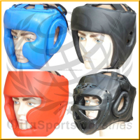 2015 Custom made Taekwondo Kick Boxing Head Guard equipment/ Youth Boxing protector Headgear/head face mask