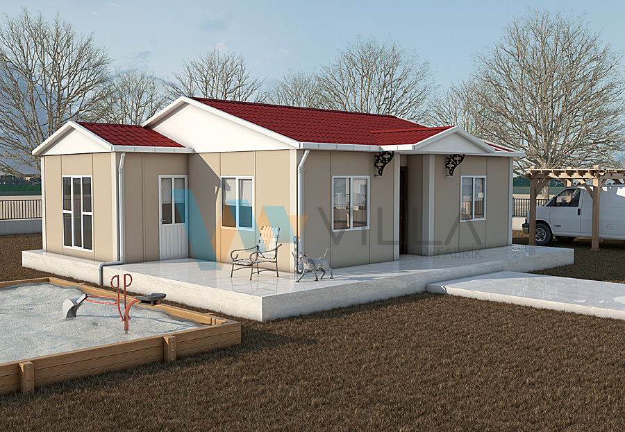 Single-storey Prefabricated House VP538
