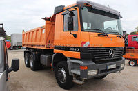 USED TRUCKS - MERCEDES-BENZ ACTROS 3340 6X6 TIPPER (LHD 6677)