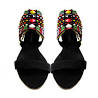 Soft Maasai Leather Beaded Sandals