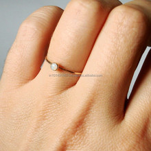 wholesale gold bezel plating stone rings jewelry,fashion adjustable jewelry ring,opal ring
