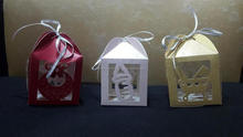 custom made laser cut favour boxes suitable for wedding favour and baby showers in size 3*3 inches