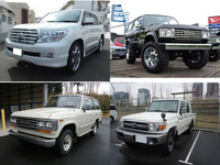 Durable and Low cost japanese used cars toyota land cruiser for irrefrangible accept orders from one car