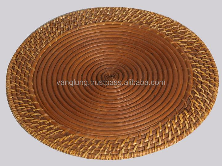 Hot selling rattan placemats
