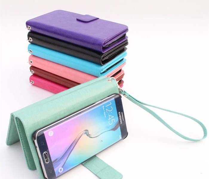Phone Case Flip Wallet Case With Card Slots For Iphone 6 Wallet Phone Cases