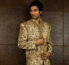 Men's embroidered salwar kameez