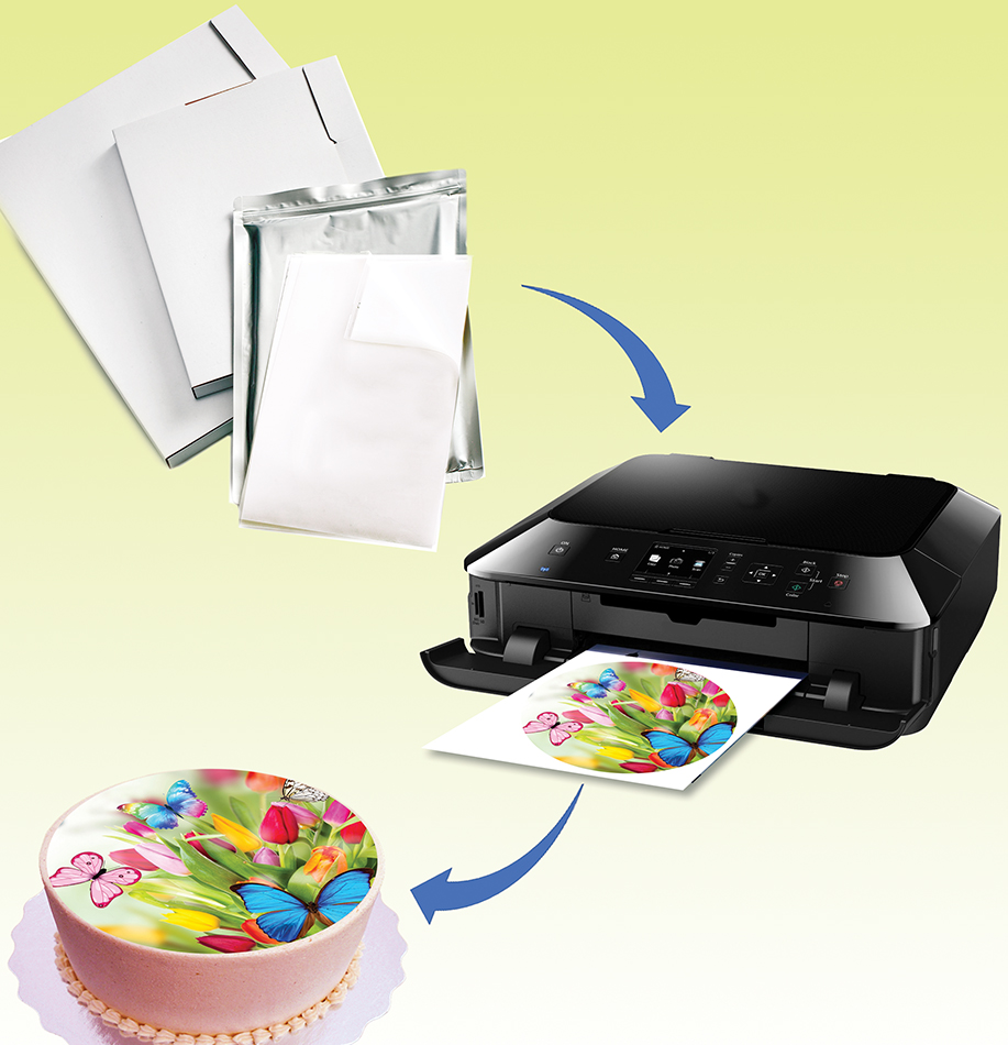 Sugar Printer For Cakes