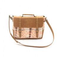 Cider Cream Messenger Bag Twinology sling bag crossbody bag,stylish messenger bag,handmade leather sling bag