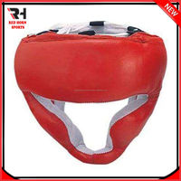 Leather Pu Karate Head Guard, Boxing Safety Helmets, Grappling Head Wear
