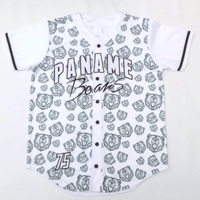 high quality all over body sublimation printing authentic baseball jersey for sale custom made streetwear