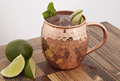 Copper New Design Hammerred 16oz Moscow Mule Mugs With Best Quality