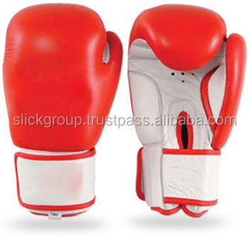 Red personalized boxing gloves Buy From Advance Fight Gear