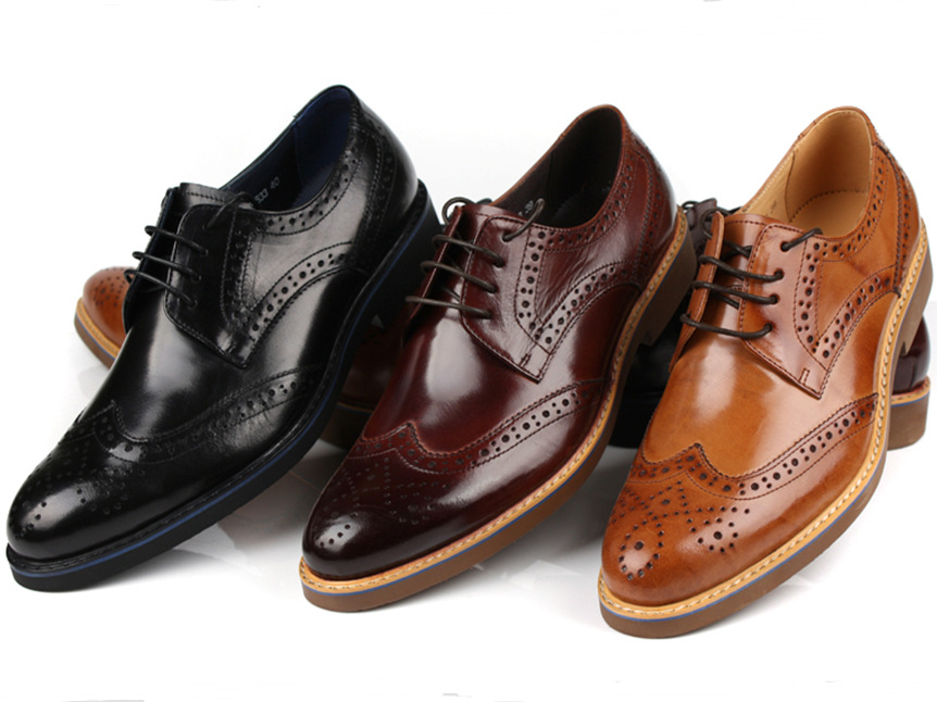 Low price Genuine Leather shoes