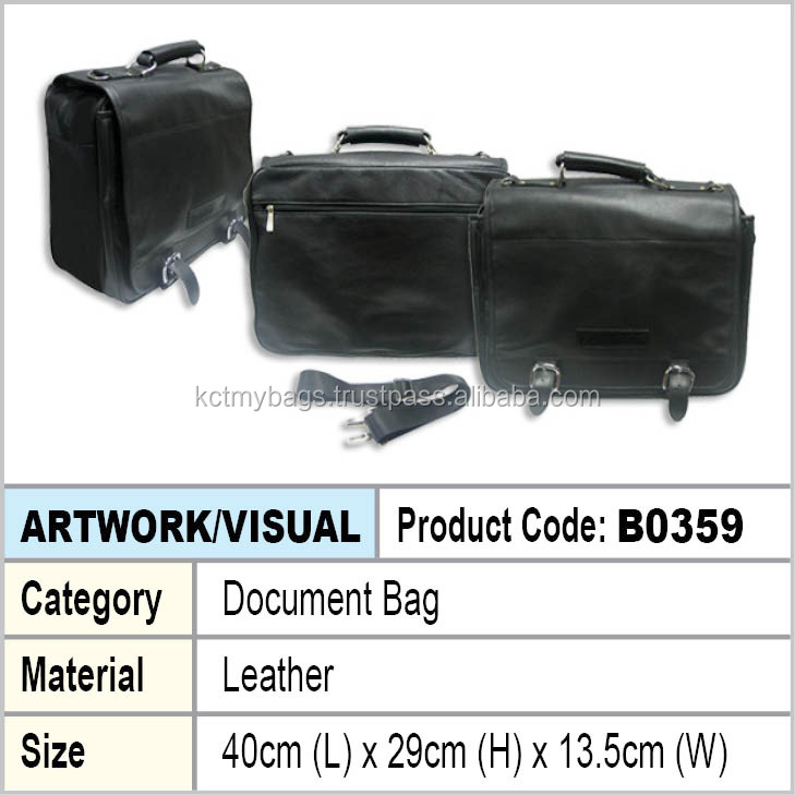 Leather Document bag / Briefcases
