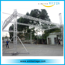 modular outdoor stage roof truss system