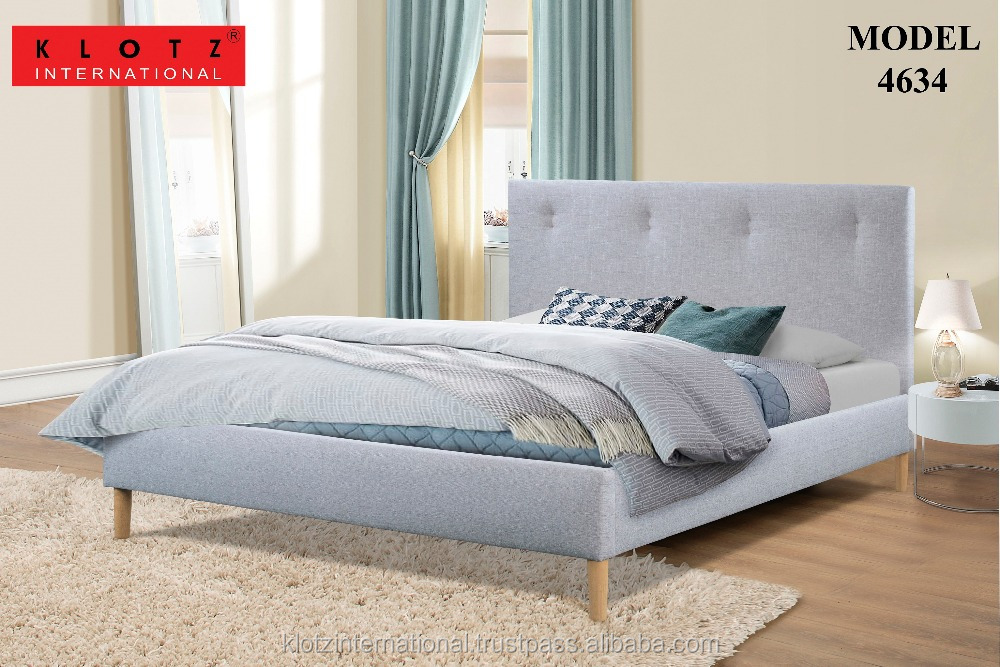 Classic Luxury Button Design Bed 4634
