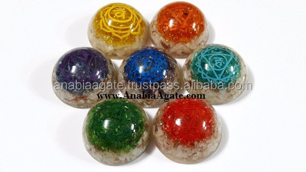 Selenite Orgone Dome Bowls | Wholesale Indian Orgone Products manufacturer