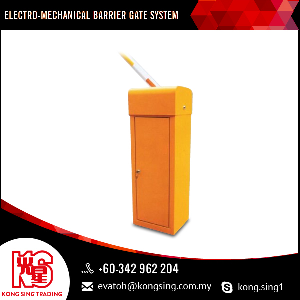 Heavy Duty Electro-Mechanical Design and Barrier Gate Opener